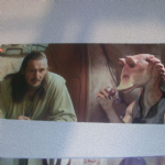 Star Wars Episode 1 Qui-Gon Jinn widescreen post card (1)